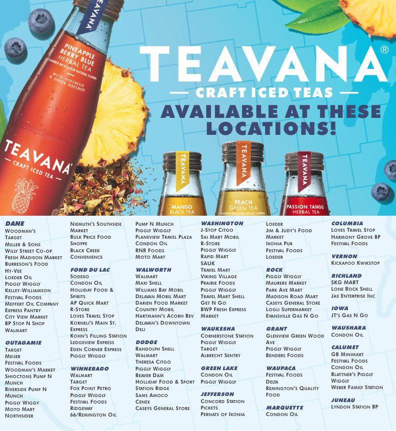 de08deddea Find Teavana Near You! - Wisconsin Distributors